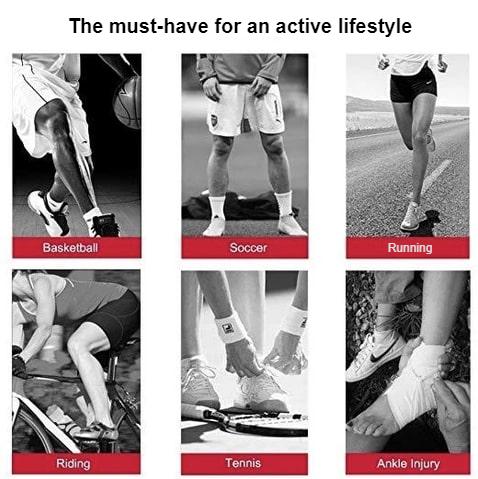 Adjustable Ankle Compression Brace